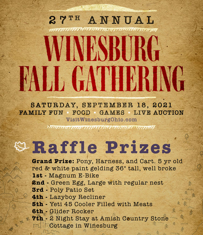 Winesburg OH fall gathering 2021